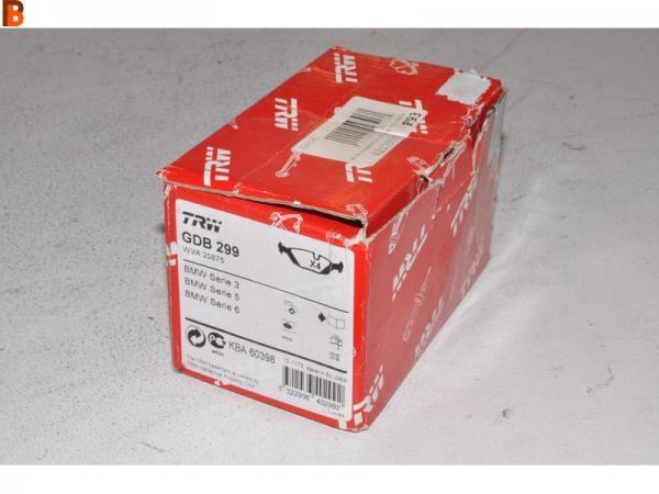 Plaquette ar bmw serie 3.5.6 alpine GDB299
