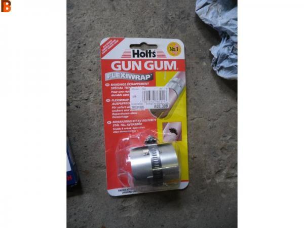 Holts gun gum réparation d échappement
