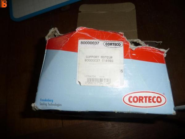 Support moteur CORTECO : 80000037 FIAT PSA