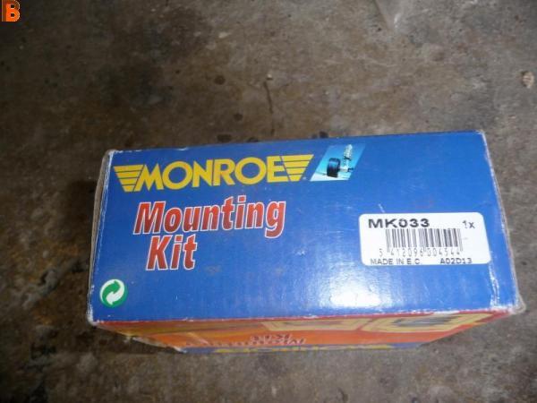 1 Butée d'amortisseur MONROE MK033 VW