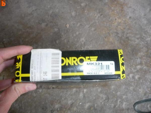 1 Butée d'amortisseur MONROE MK321 PEUGEOT 207
