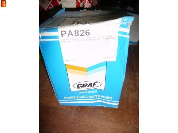 Pompe à eau SALERI : PA826 FIAT LANCIA